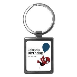 Spider-Man Balloon Keychain Thumbnail