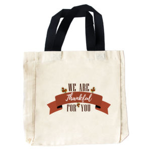 Thankful For You Tote Bag Thumbnail