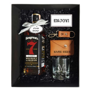 For You Whiskey and Leather Gift Set Thumbnail