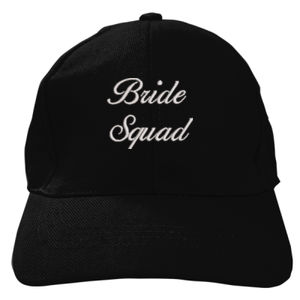 Bride Squad Embroidered Baseball Cap Thumbnail