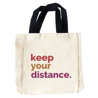 Keep Your Distance Tote Bag Thumbnail