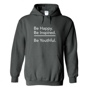Happy/Inspired/Youthful Hoodie Thumbnail